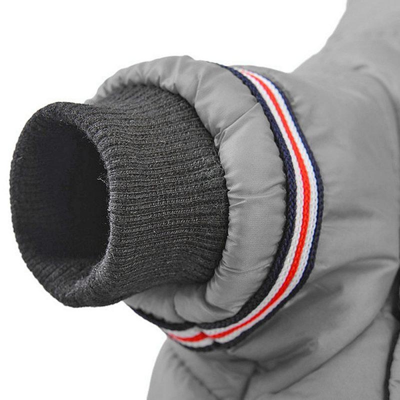 Manteau chien à manches longues